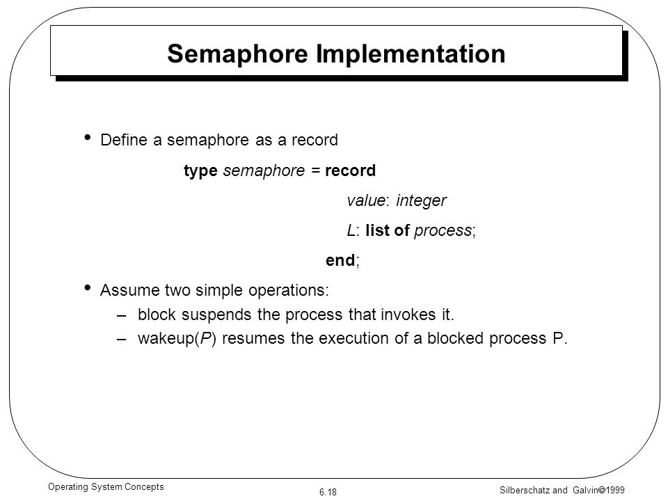 Semaphore Implementation