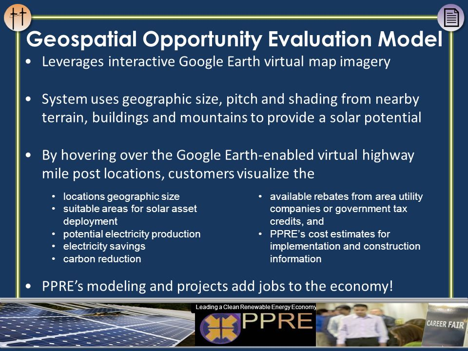 Geospatial Opportunity Evaluation Model
