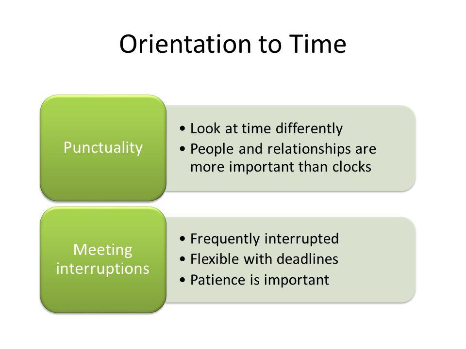 Meeting interruptions