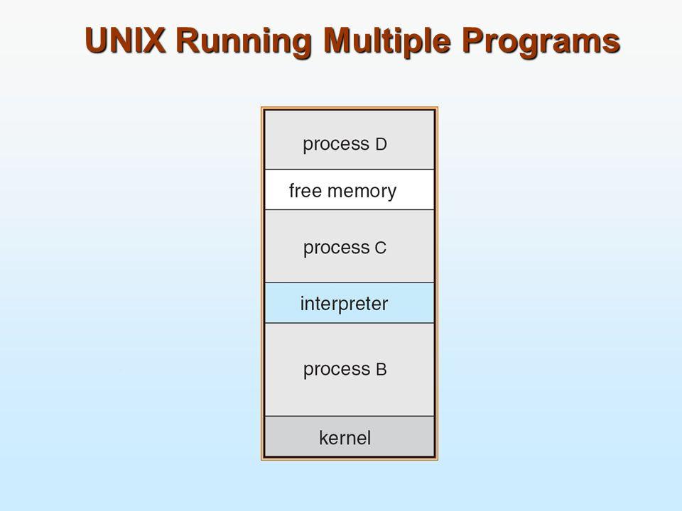 UNIX Running Multiple Programs