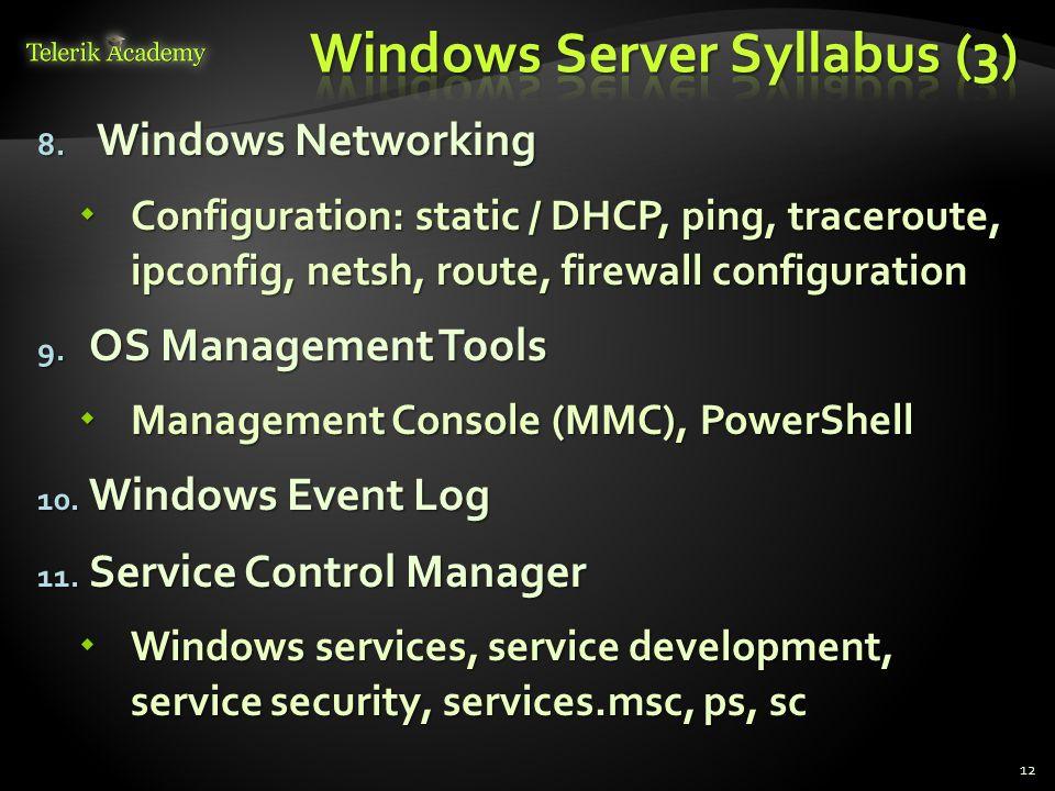 Windows Server Syllabus (3)