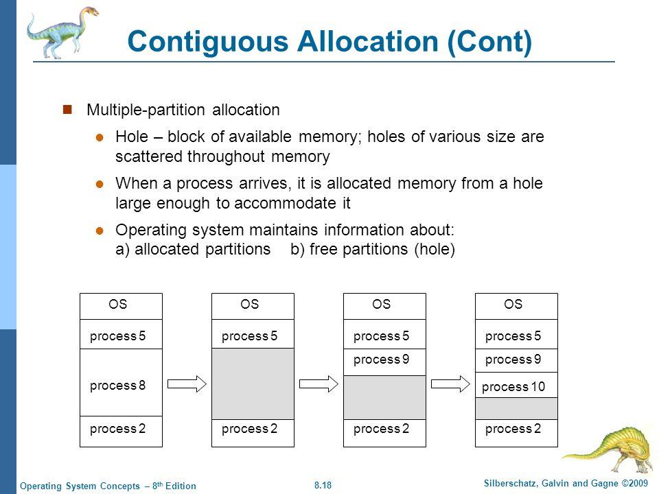 Contiguous Allocation (Cont)
