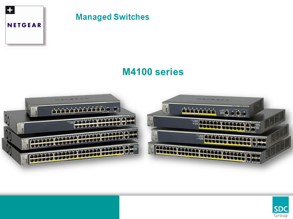 Managed Switches M4100 series