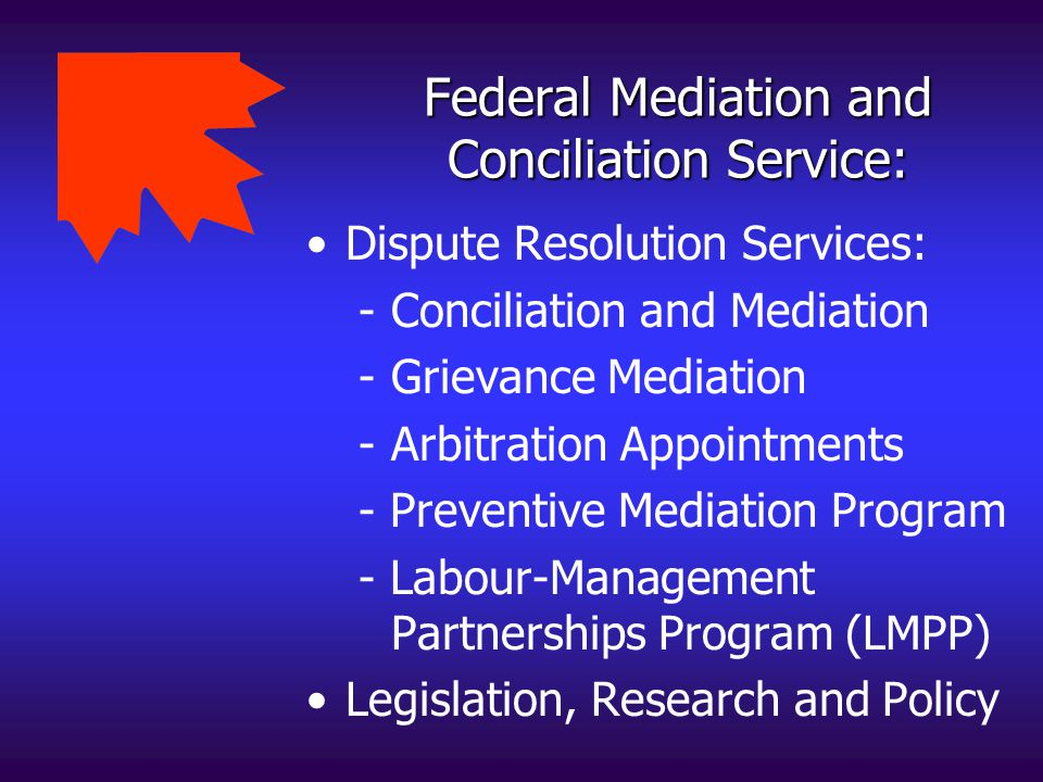 Federal Mediation and Conciliation Service: