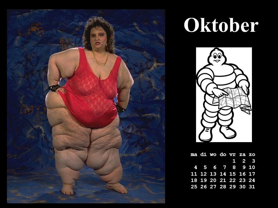 Oktober ma di wo do vr za zo 1 2 3 4 5 6 7 8 9 10 11 12 13 14 15 16 17