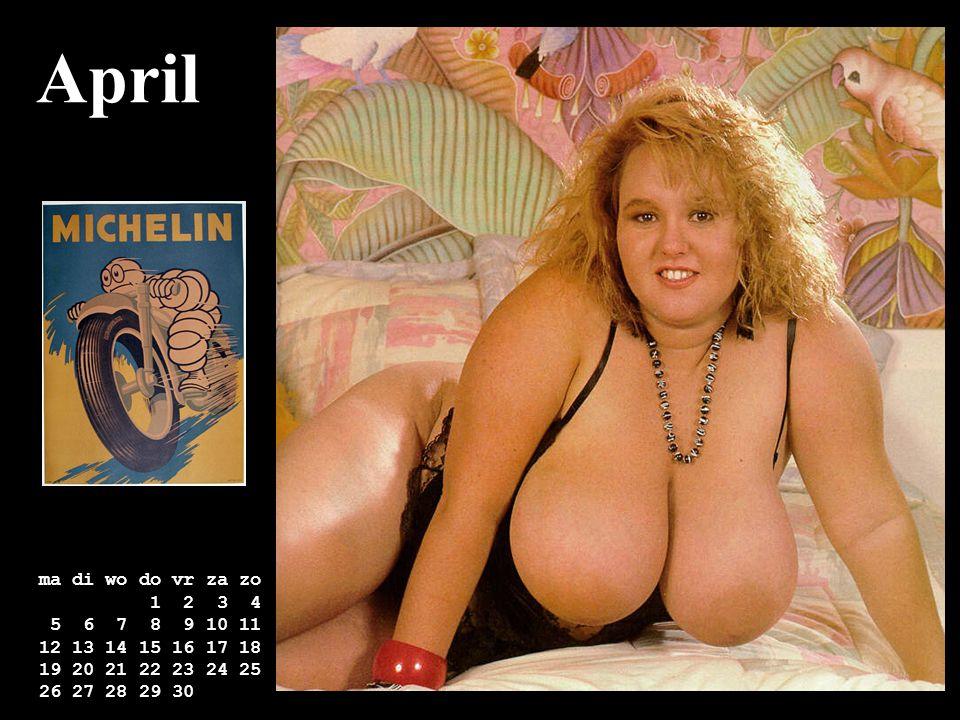 April ma di wo do vr za zo. 1 2 3 4. 5 6 7 8 9 10 11. 12 13 14 15 16 17 18. 19 20 21 22 23 24 25.
