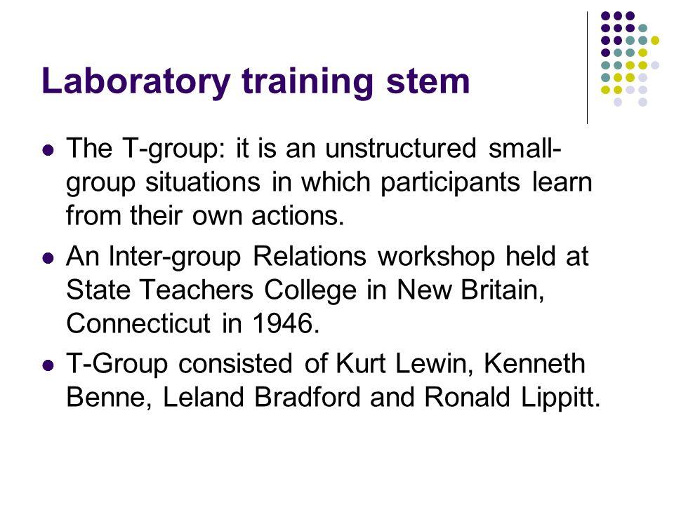 Laboratory training stem
