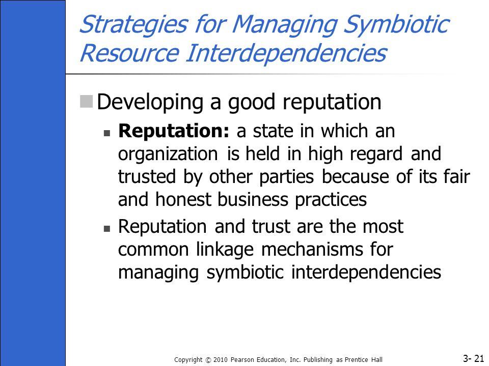 Strategies for Managing Symbiotic Resource Interdependencies