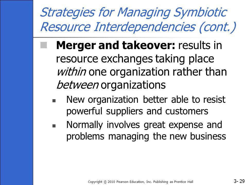 Strategies for Managing Symbiotic Resource Interdependencies (cont.)
