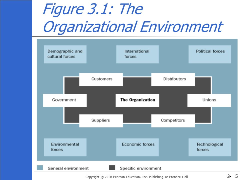 Figure 3.1: The Organizational Environment