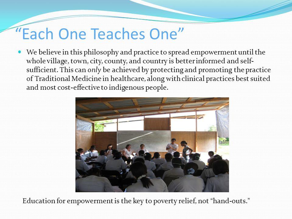 Each One Teaches One