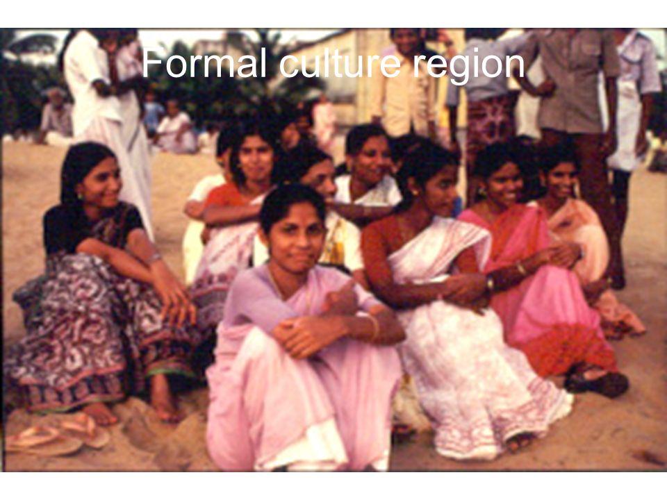 Formal culture region