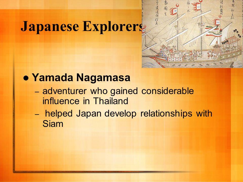 Japanese Explorers Yamada Nagamasa
