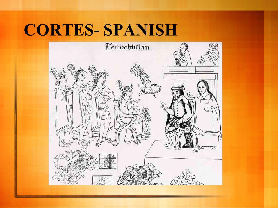 CORTES- SPANISH