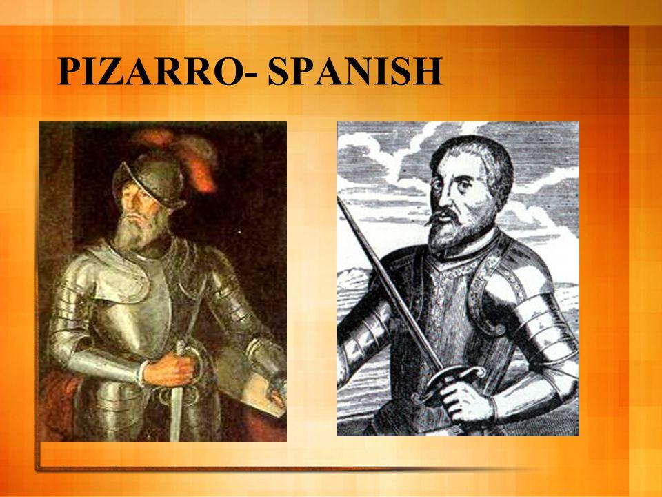 PIZARRO- SPANISH