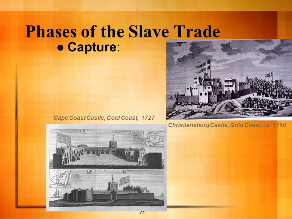 Phases of the Slave Trade