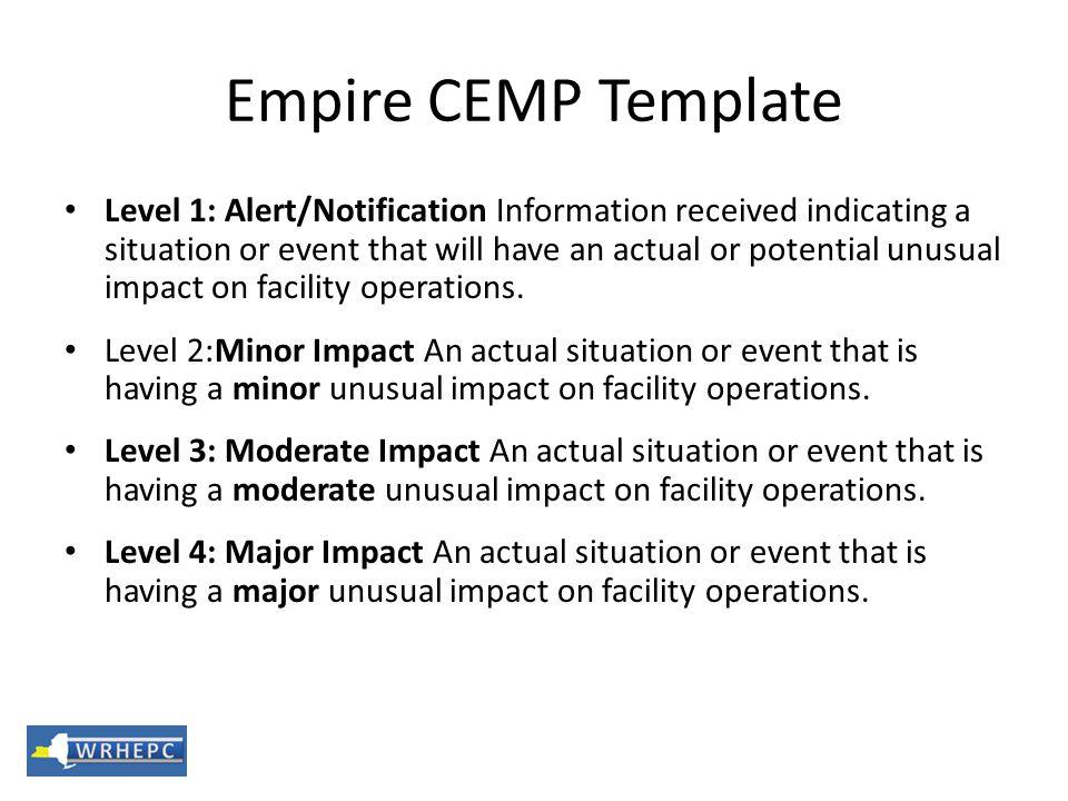 Empire CEMP Template