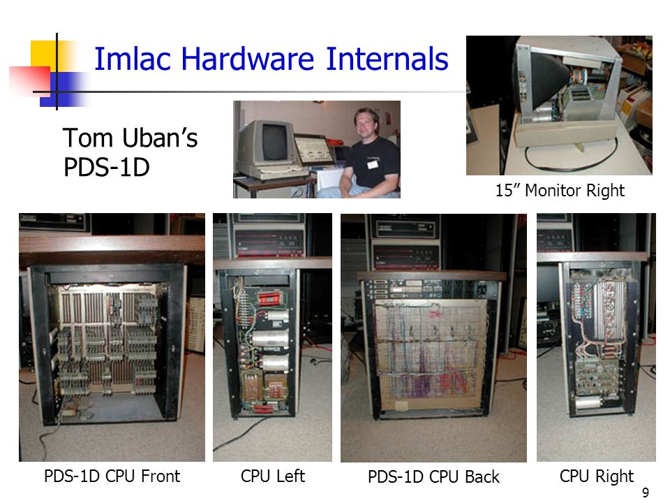 Imlac Hardware Internals