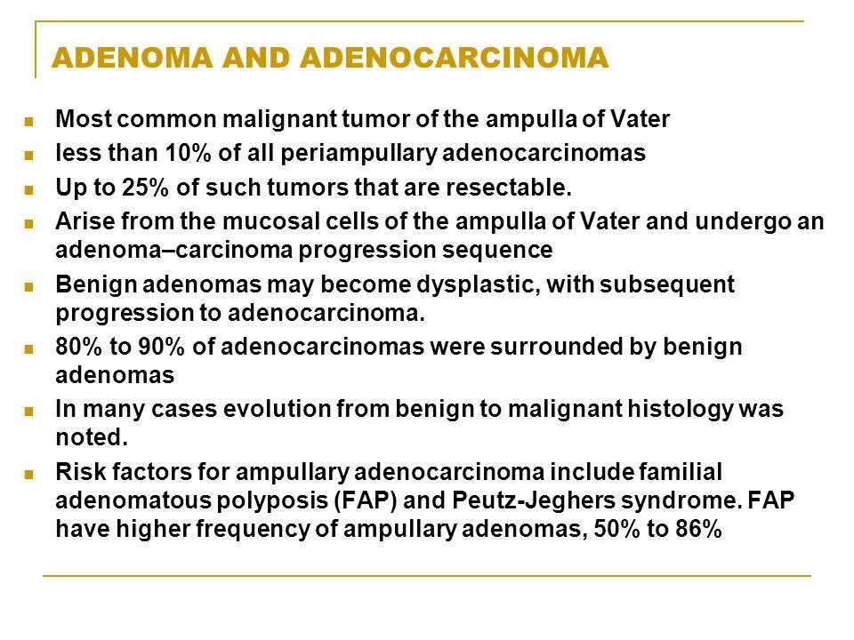 ADENOMA AND ADENOCARCINOMA