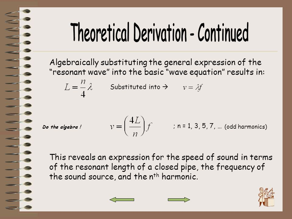 Theoretical Derivation - Continued