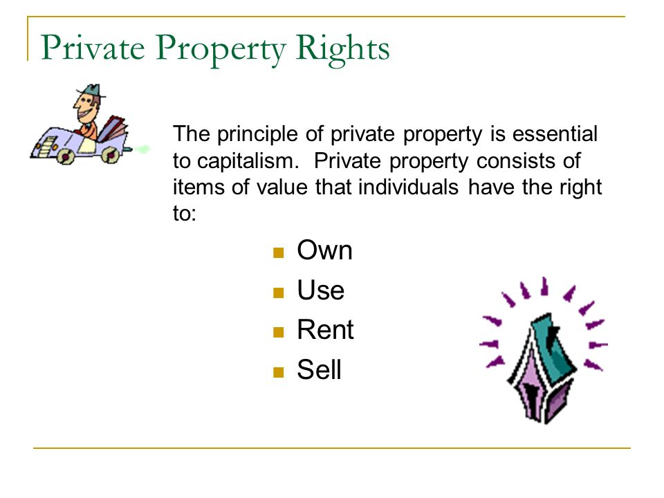 Private Property Rights