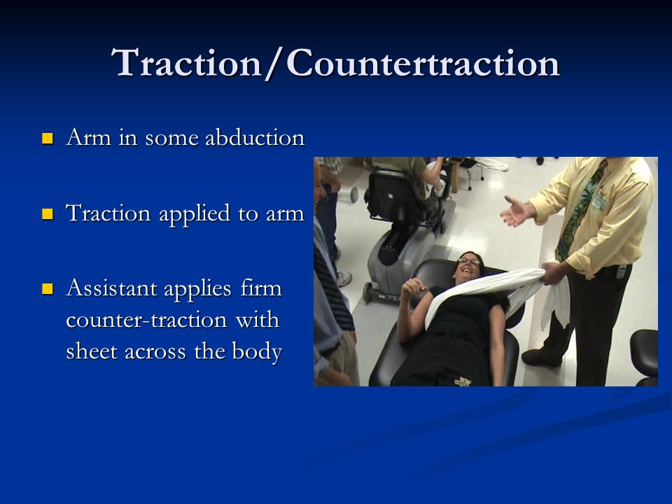 Traction/Countertraction