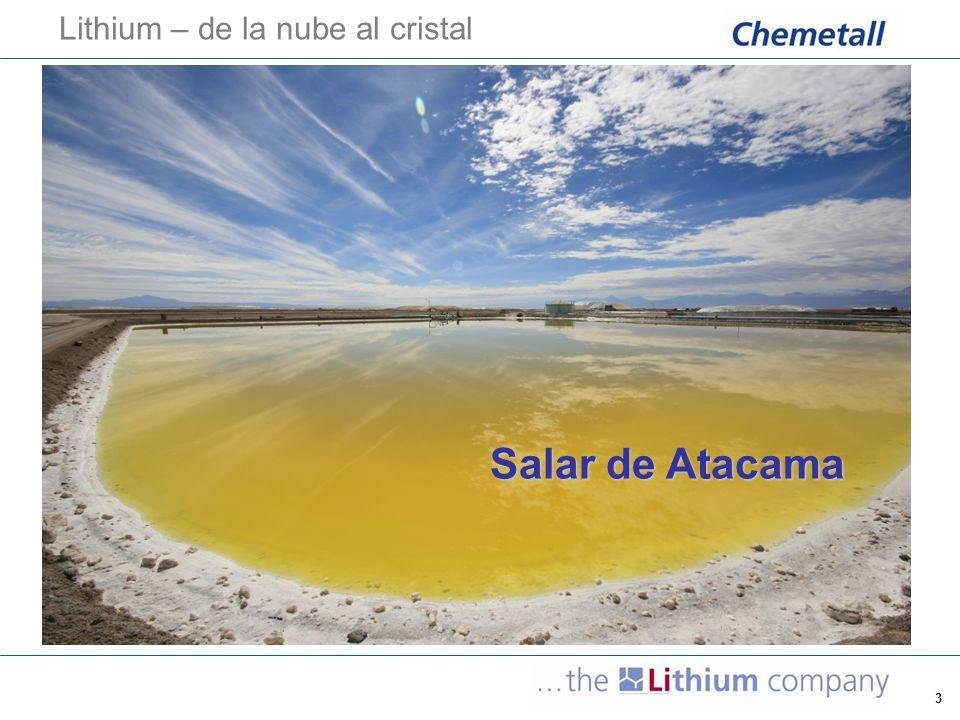 Lithium – de la nube al cristal