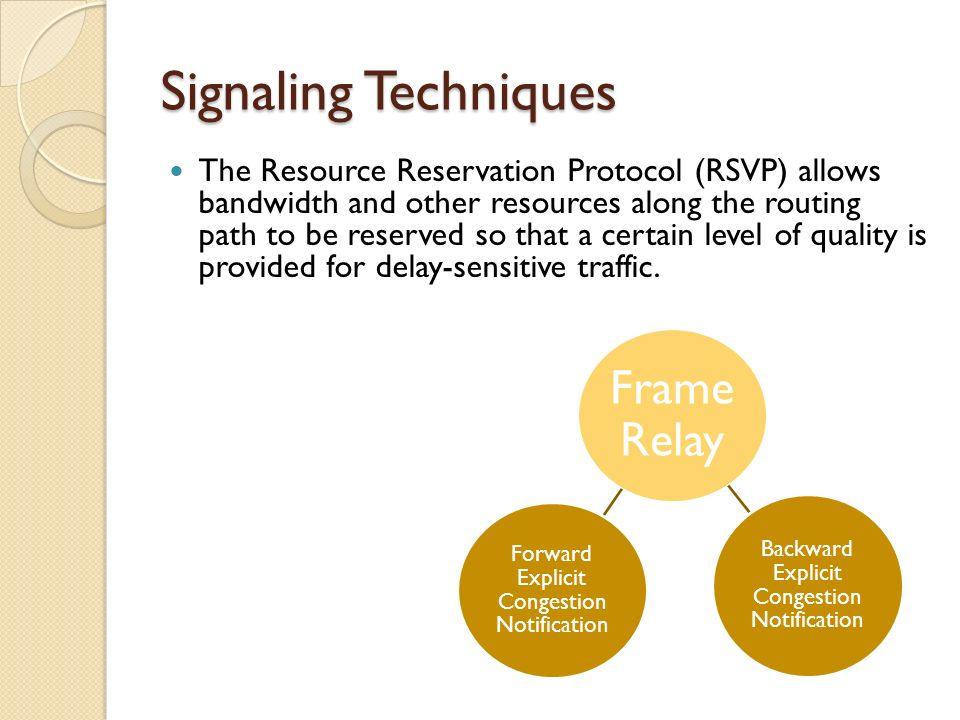 Signaling Techniques