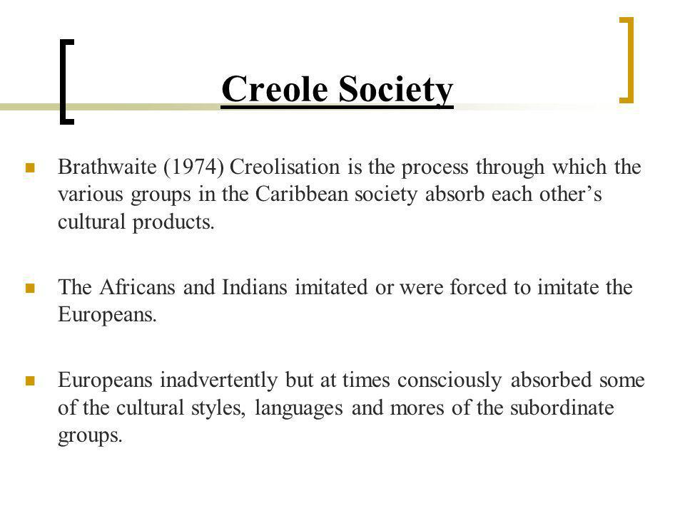 Creole Society