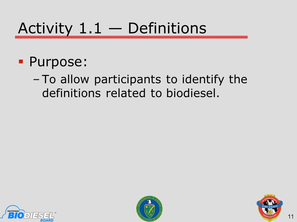 Activity 1.1 — Definitions