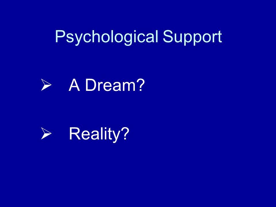 Psychological Support