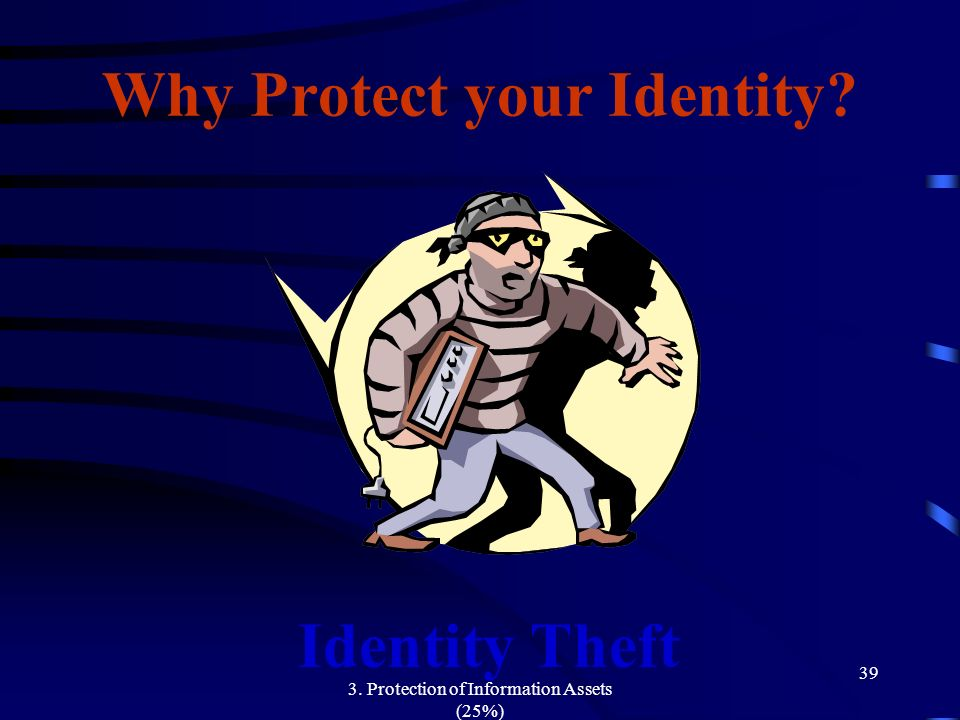 Why Protect your Identity