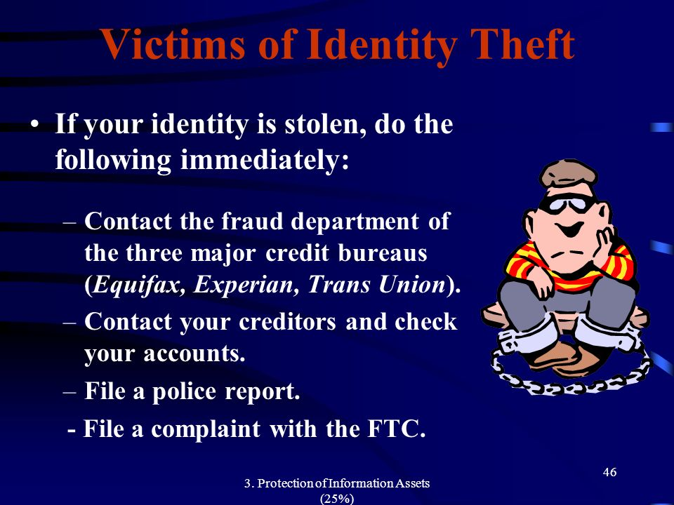 3. Protection of Information Assets (25%) - ppt download