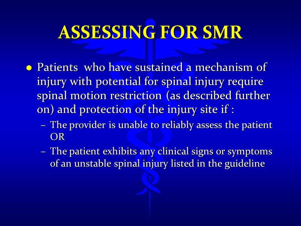 Assessing FOR SMR