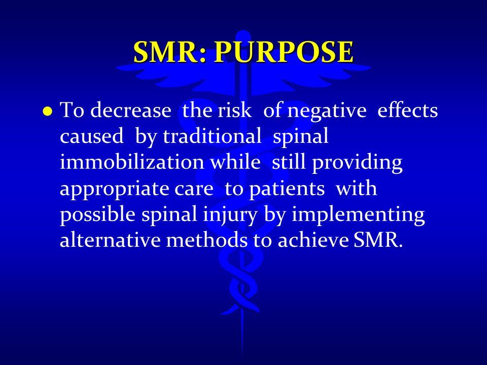 SMR: Purpose