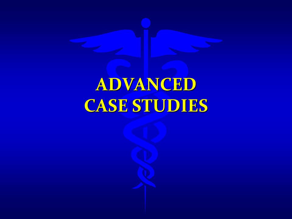 Advanced Case Studies