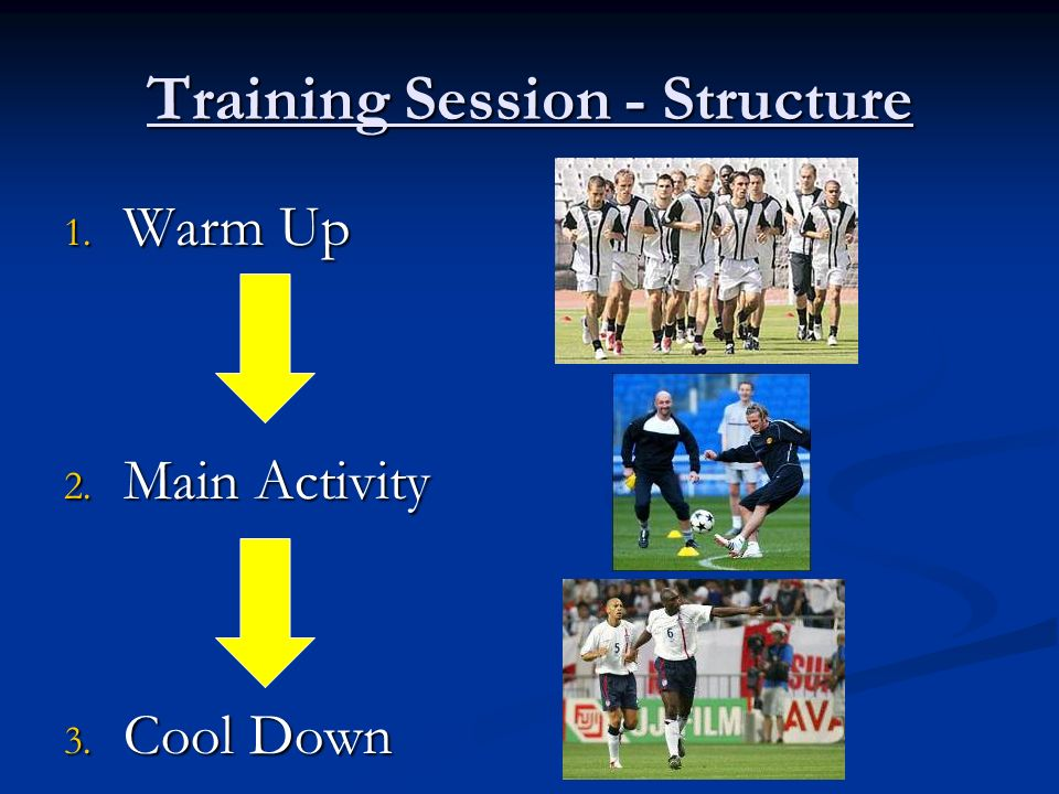 Training Session - Structure