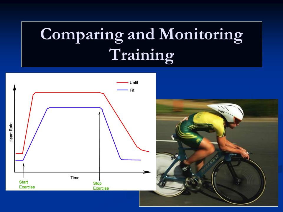 Comparing and Monitoring Training