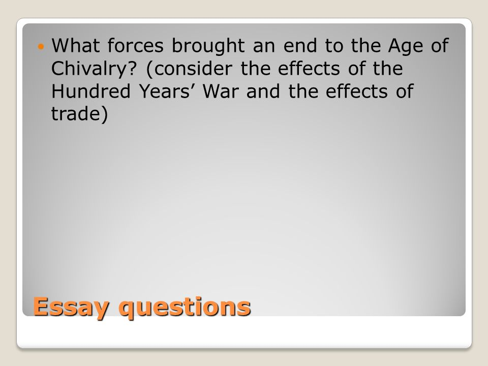 the formation of western europe review ppt   hundred years war 37 what