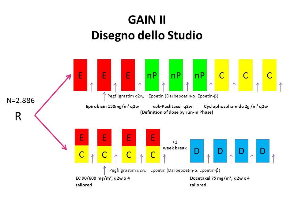GAIN II Disegno dello Studio