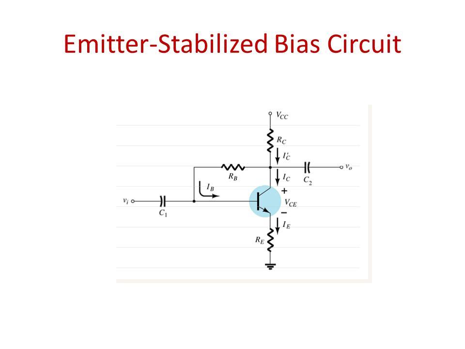 Emitter-Stabilized Bias Circuit
