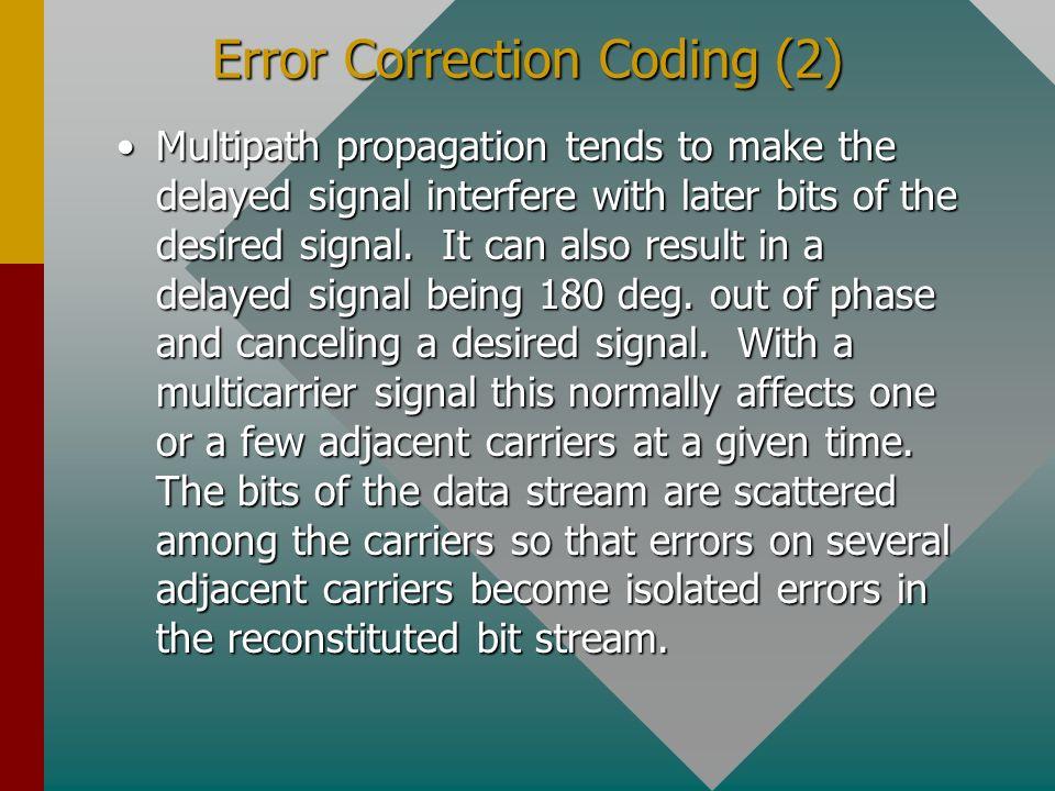 Error Correction Coding (2)