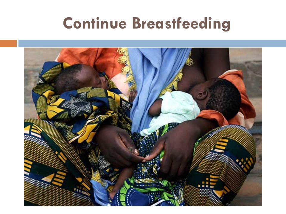 Continue Breastfeeding