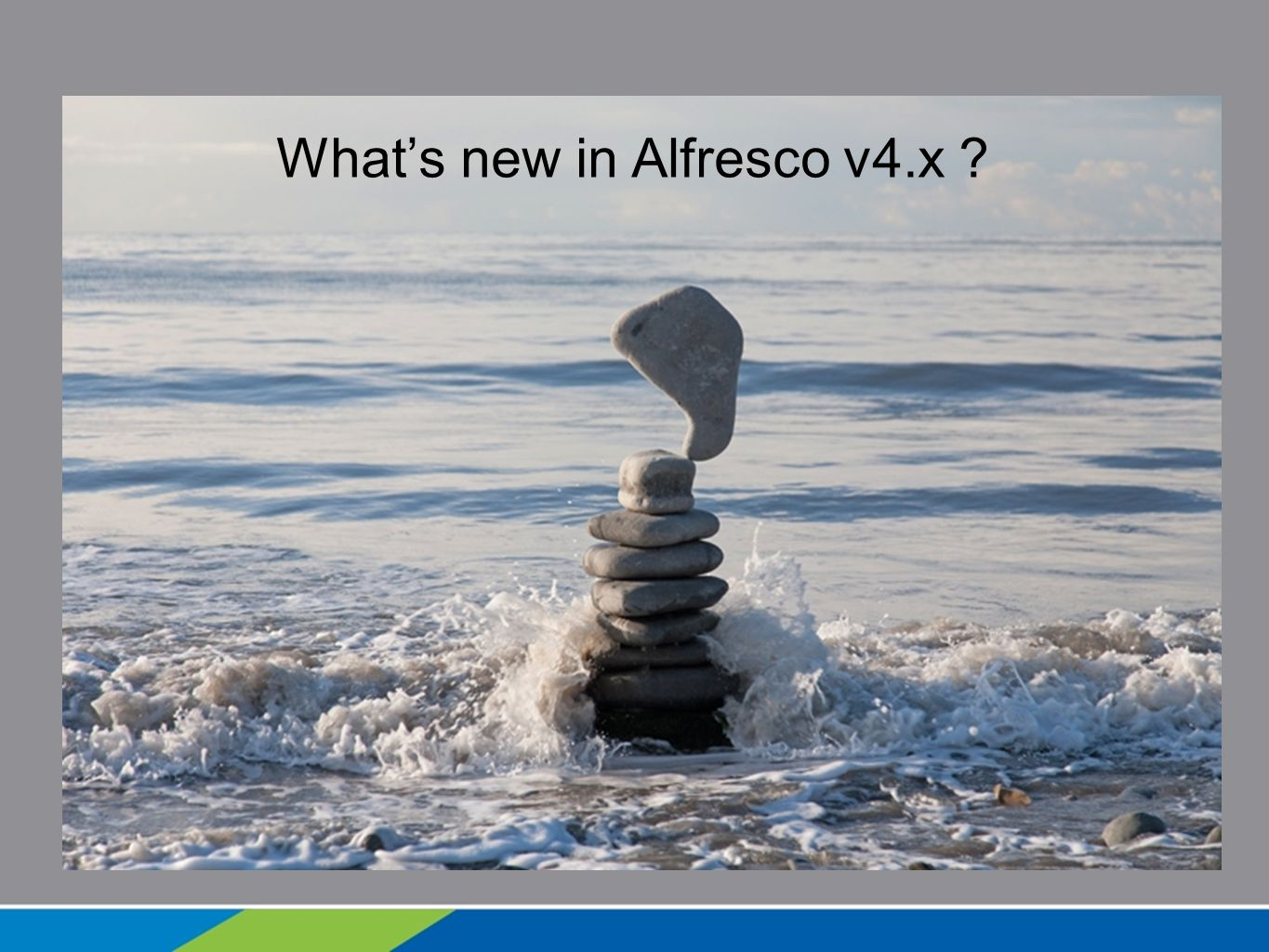 What's new in Alfresco v4.x