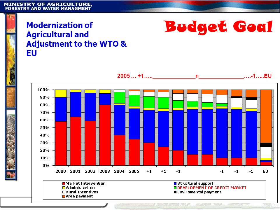 Modernization of Agricultural and Adjustment to the WTO & EU