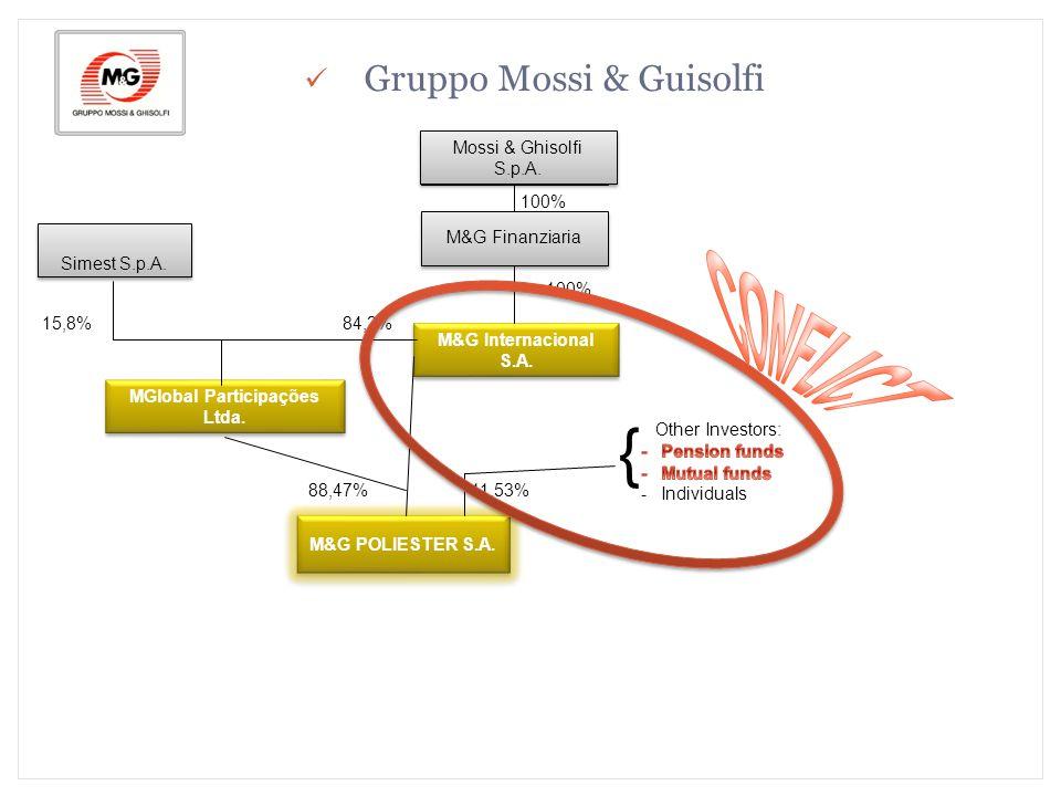 M&G Polímeros Brasil S.A. MGlobal Participações Ltda.