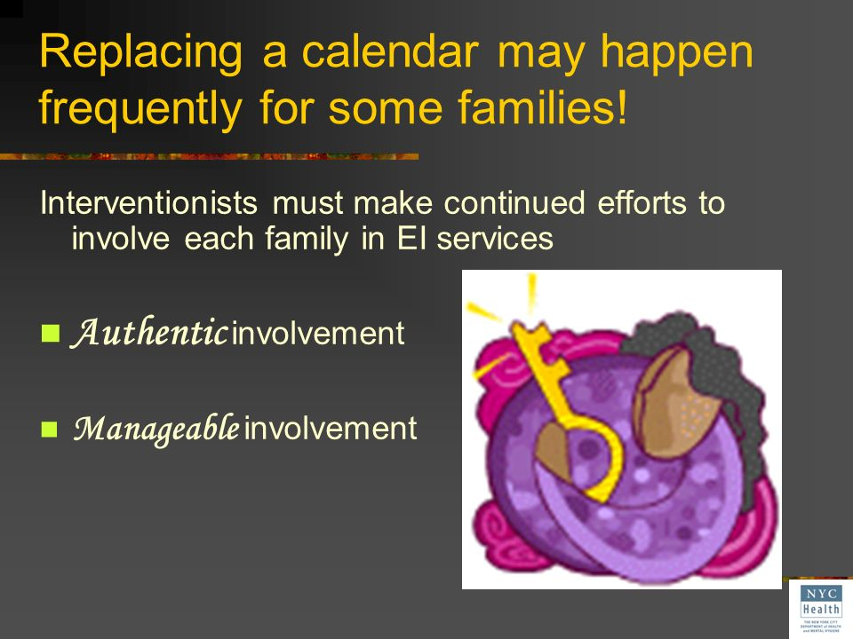 Replacing a calendar may happen frequently for some families!