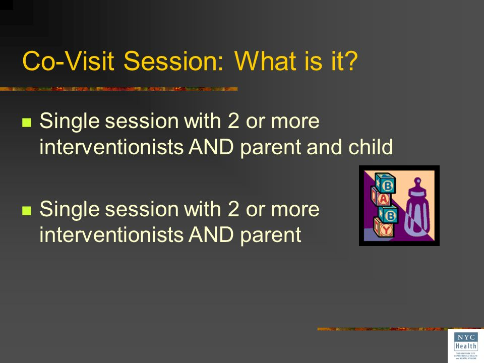 Co-Visit Session: What is it