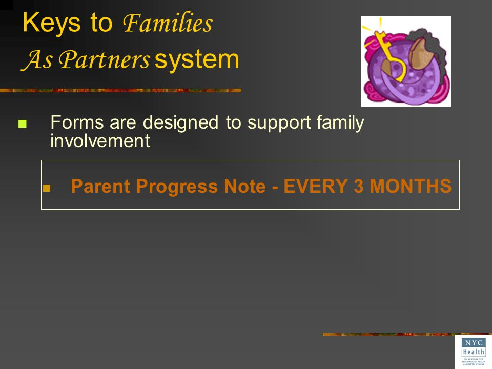 Keys to Families As Partners system