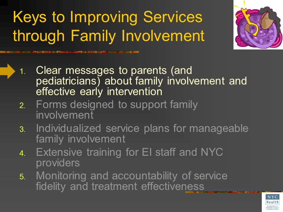 Keys to Improving Services through Family Involvement